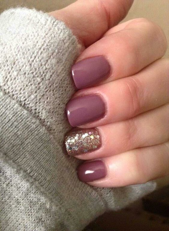 50 Beauty Fall Nails Art You Can Try At Home Nails Pinterest