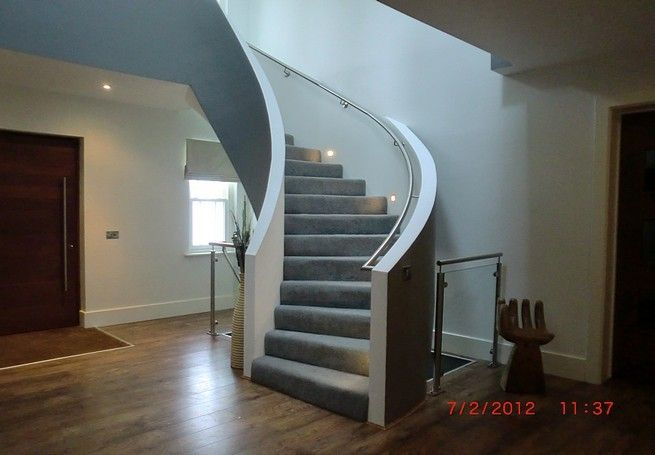 Best This Helical Concrete Stairs Had Solid Concrete 400 x 300