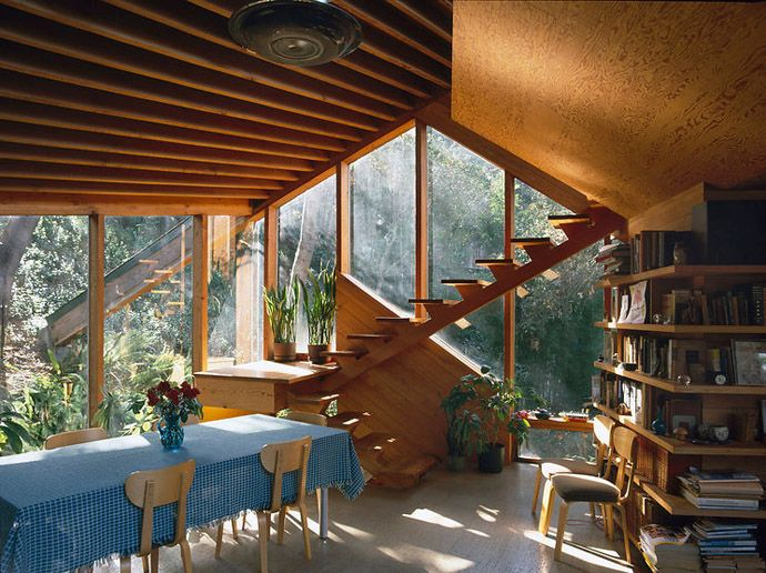 Photo of Amazing Wooden Home- Walstrom House by John Lautner