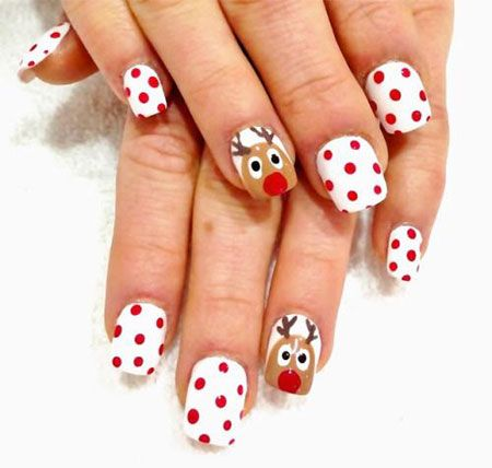 Simple Christmas Nail Art Designs - Simple Christmas Nail Art Designs Simple Christmas Nail Art