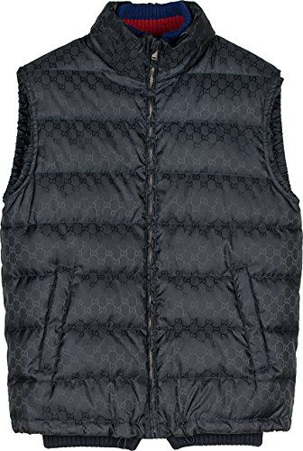 537198d45 GUCCI Gucci Men'S 429493Z42184440 Blue Polyamide Vest. #gucci #cloth ...