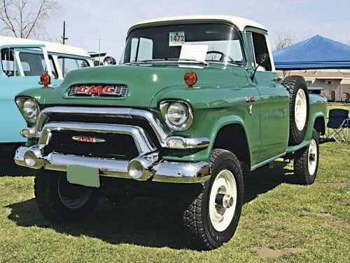 1956 gmc 4x4 vintage pickups cars pinterest. Black Bedroom Furniture Sets. Home Design Ideas