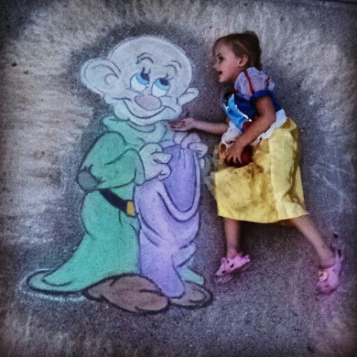 The fairest one of all! Chalkart