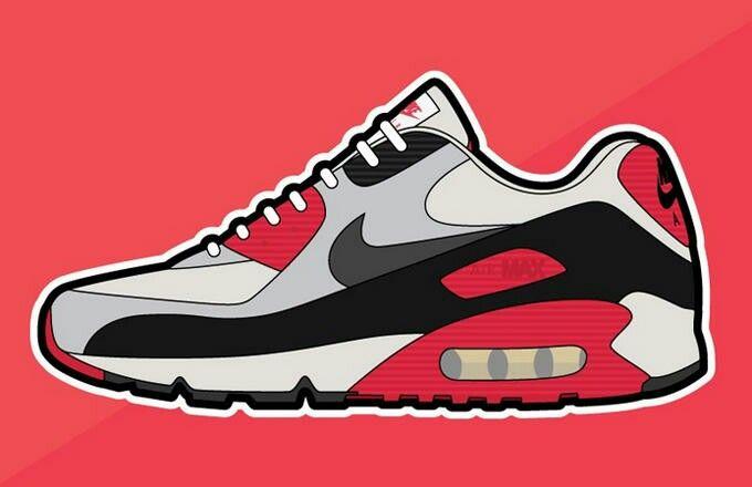 Nike Air Max One | ILUSTRACIÓN | Zapatos dibujos, Dibujos y