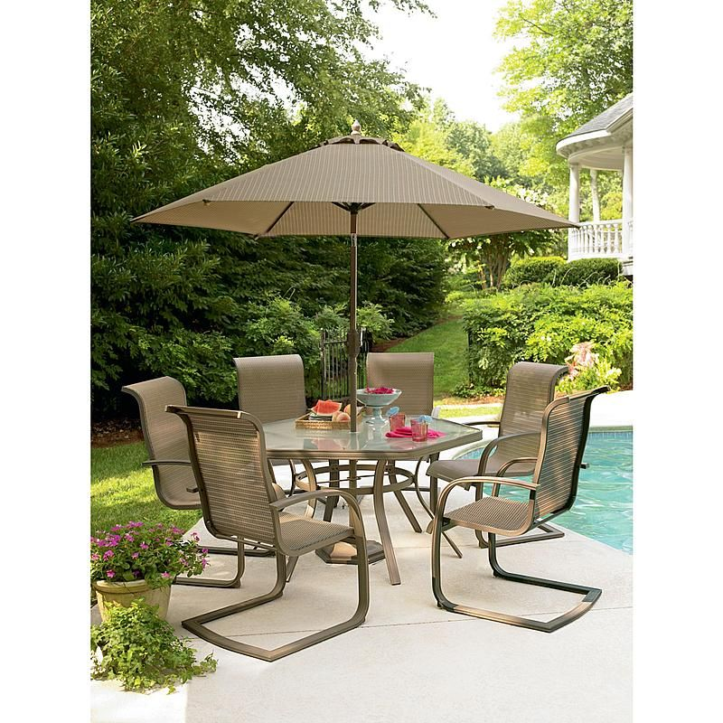 Garden Oasis - -138-2nset7 Grandview 7 Pc. Dining