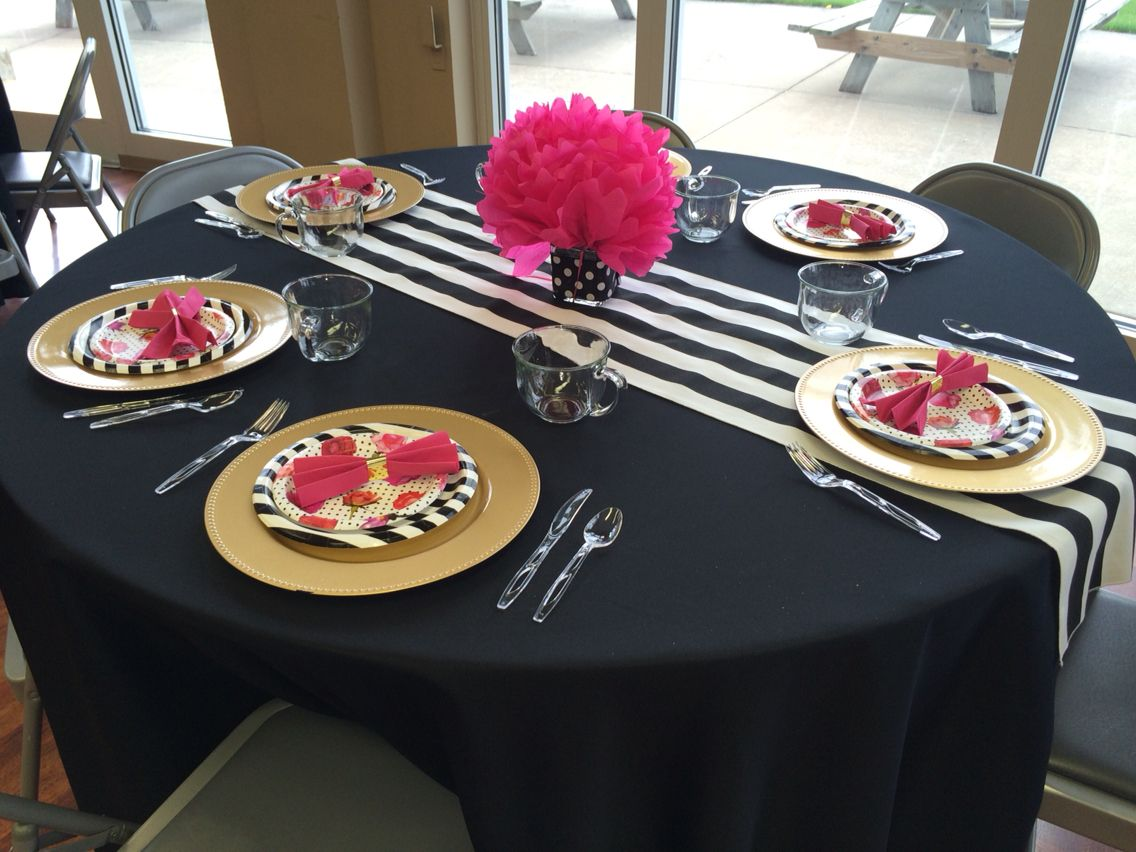 Kate Spade Decorating Tips: Kate Spade Themed Bridal Shower!