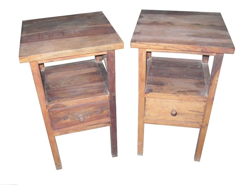 For Sale Sheesham Wood Side Table Pair More Information Please Visit