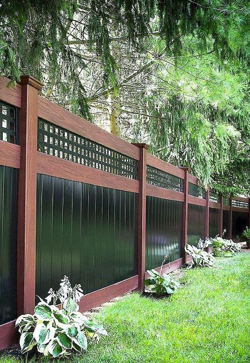 75 Easy Cheap Backyard Privacy Fence Design Ideas Cloture Jardin