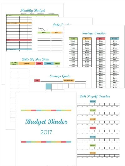 savings goal tracker spreadsheet