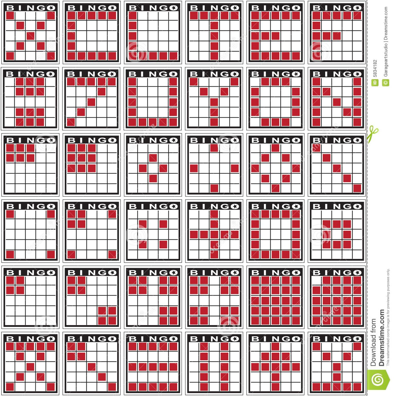 graphic about Bingo Patterns Printable identify Bingo Models Inventory Images - Picture: 5834182 Bingo