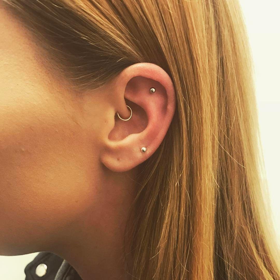 Piercing ideas for girls  piercings orelhas girl  Jewellery  Pinterest  Piercings Girls