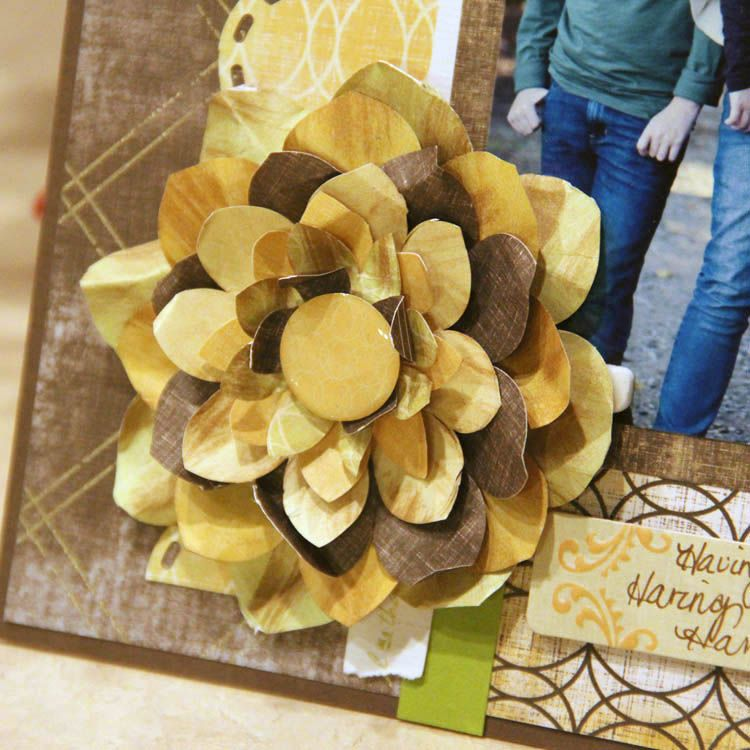 Create paper flowers using only the corner maker ccs circle create paper flowers using only the corner maker ccs circle patterns mightylinksfo