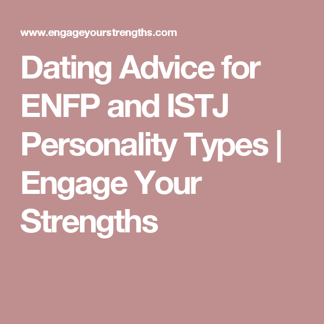 Dating an enfp personality type