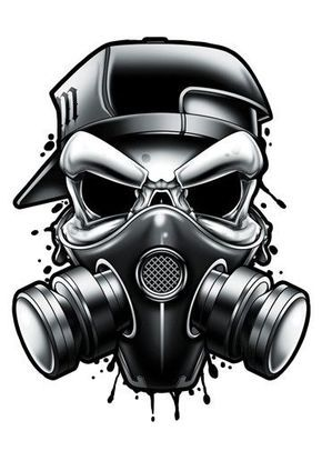 resultado de imagem para fotos de caveiras de máscaras de ar