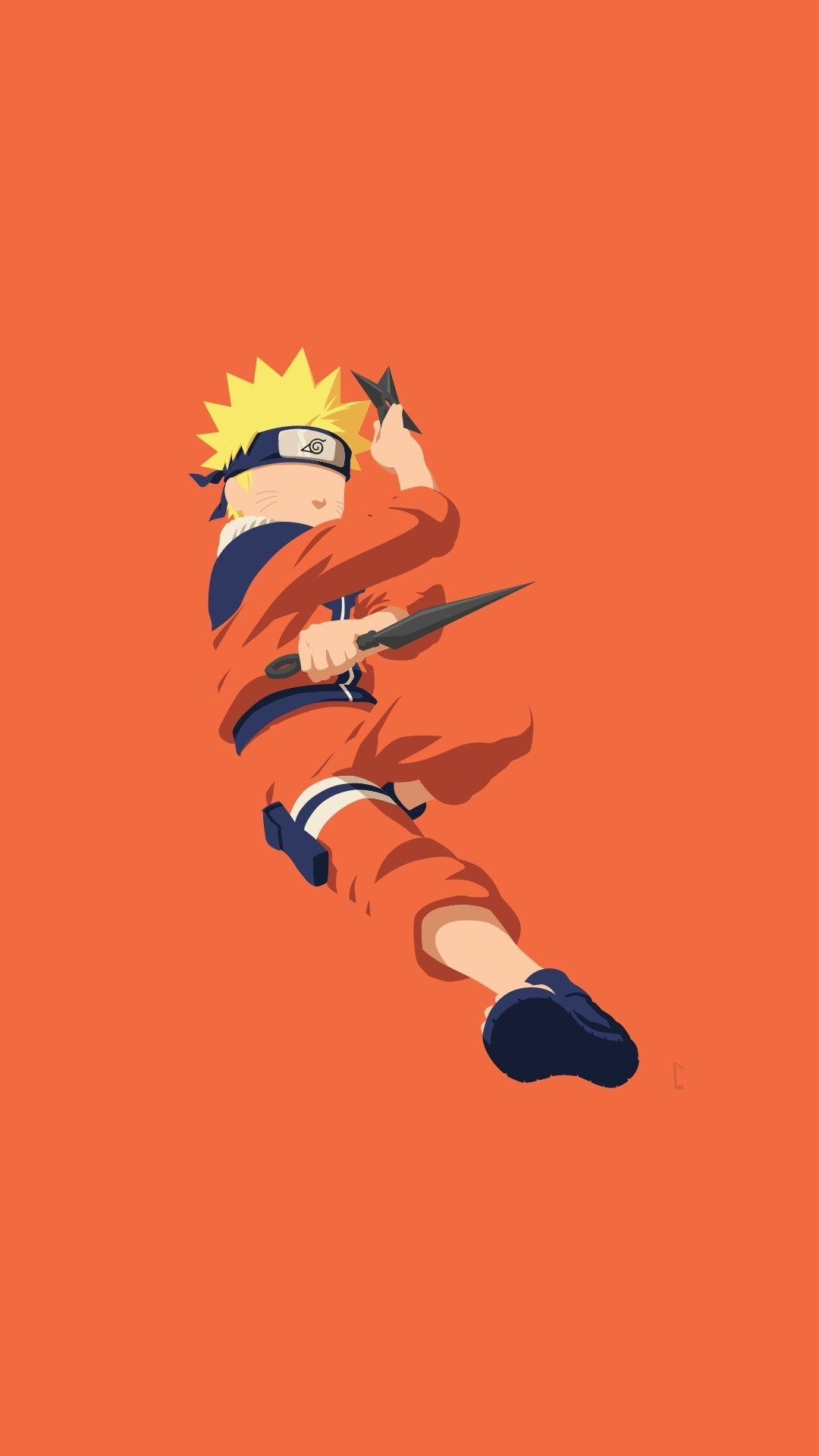 Minimal Naruto Uzumaki Art 1080x1920 Wallpaper Naruto Uzumaki Naruto Wallpaper Iphone Naruto Wallpaper