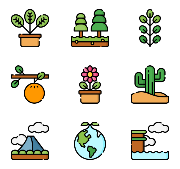 2,976 icon packs of nature