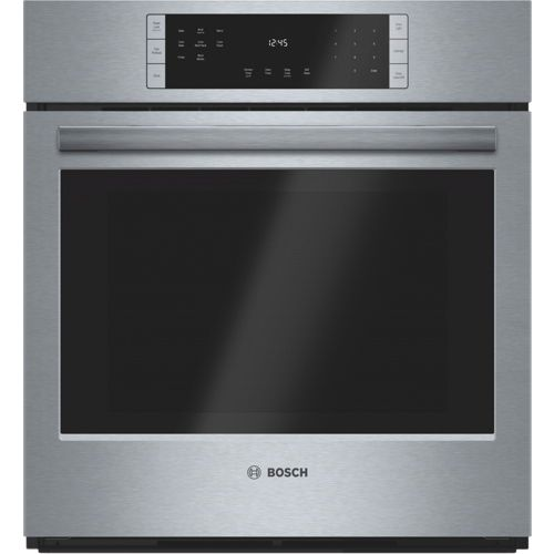 Bosch 27 3 9 Cu Ft Easy Clean True Convection Wall Oven
