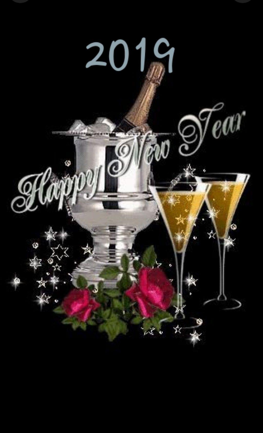 Szczęśliwego nowego roku Happy new year gif, Happy new