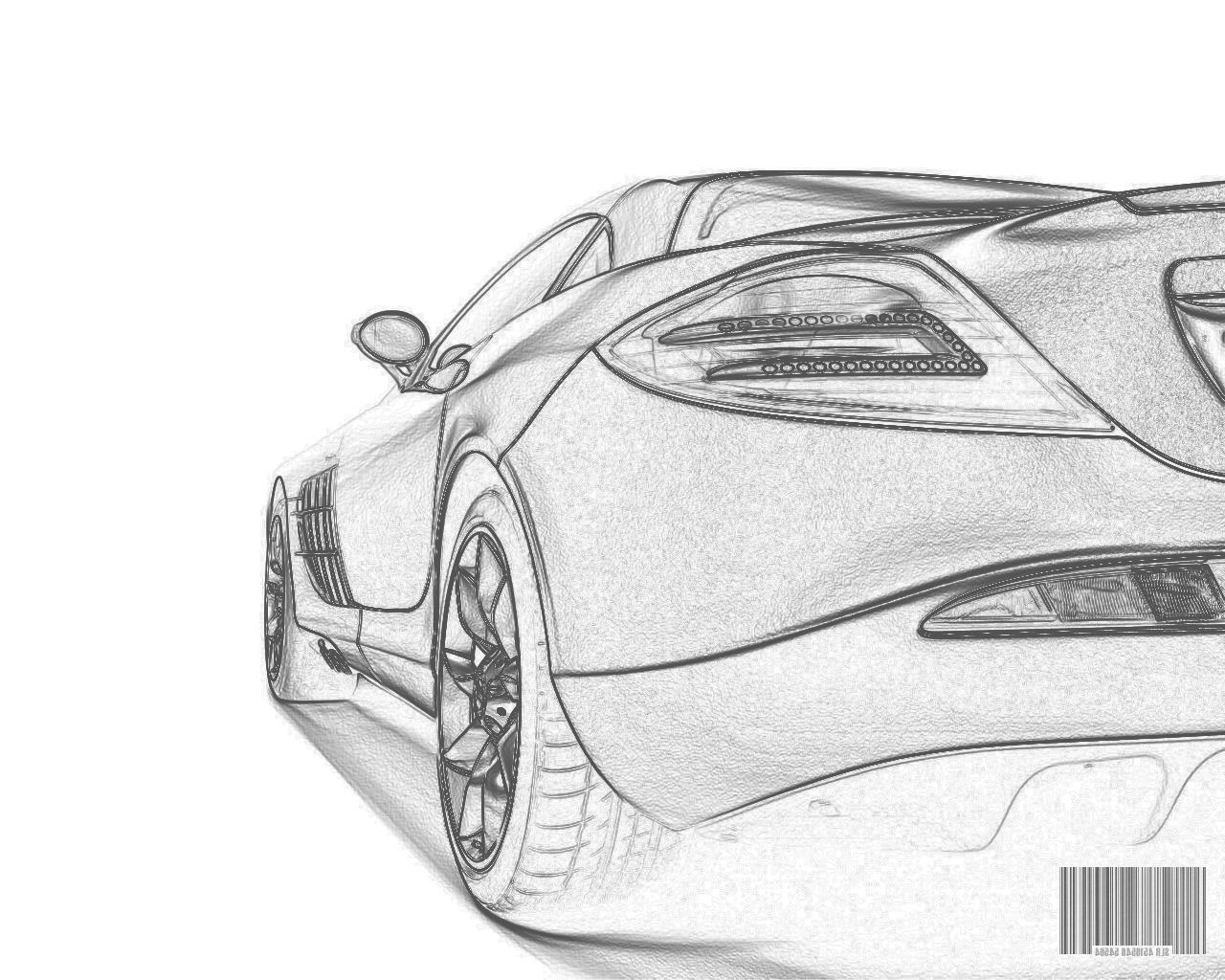 Try these simple car drawings and use the outlines as a guide to get ...