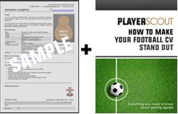 Football cv template and ebook careers in football pinterest cv template yelopaper Choice Image