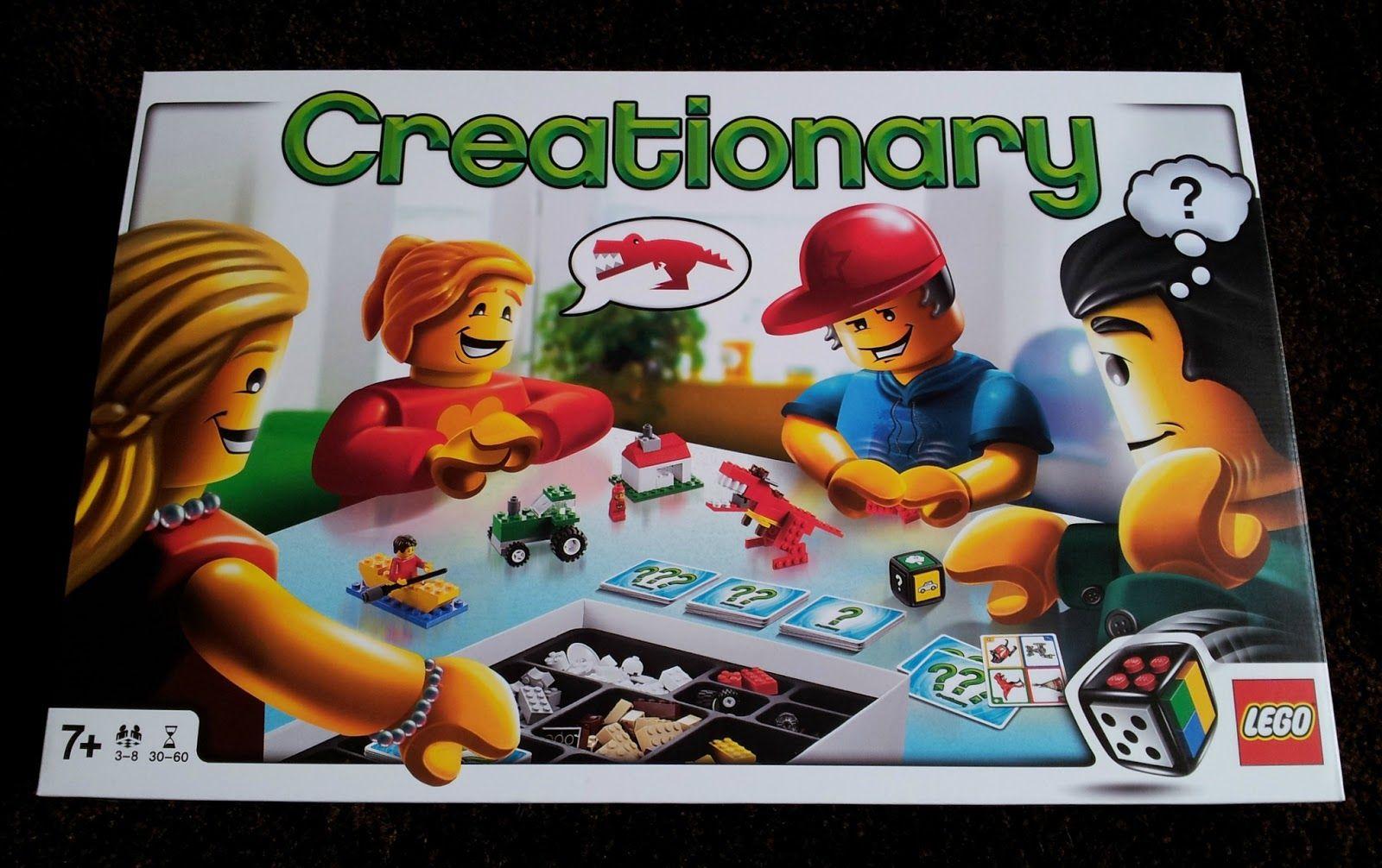 Lego Creationary Like Pictionary But Using Lego Bricks Toys And