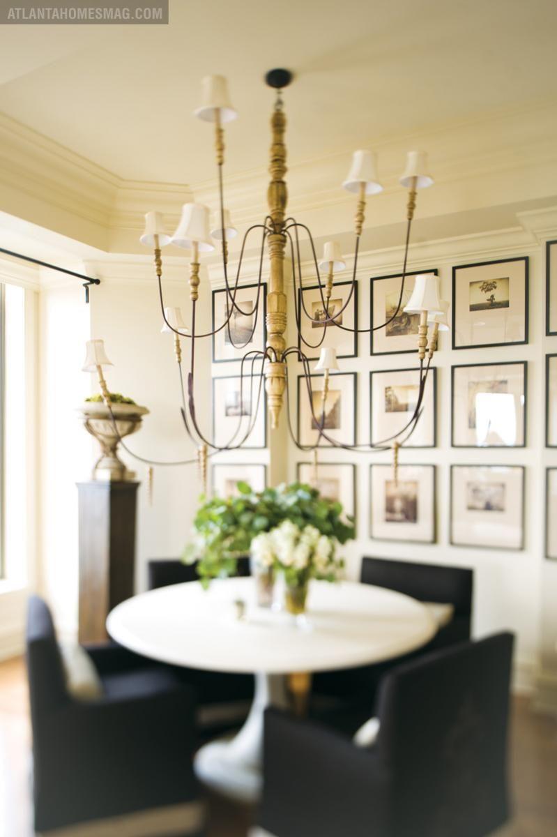 Atlanta Homes Lifestyles Lighting Chandelier Dining