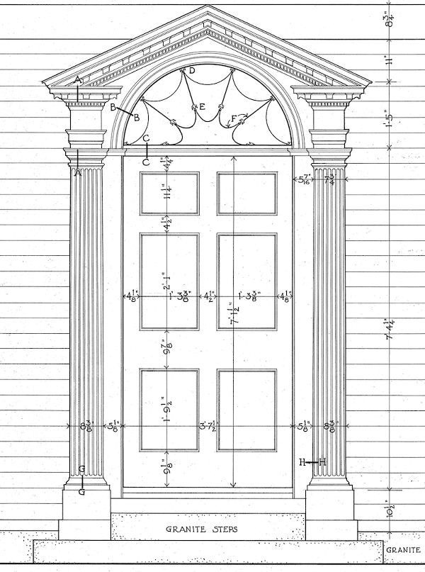 Perfect Architectural Proportions The No Fail Formula Georgian Doors Architecture Architectural Elements