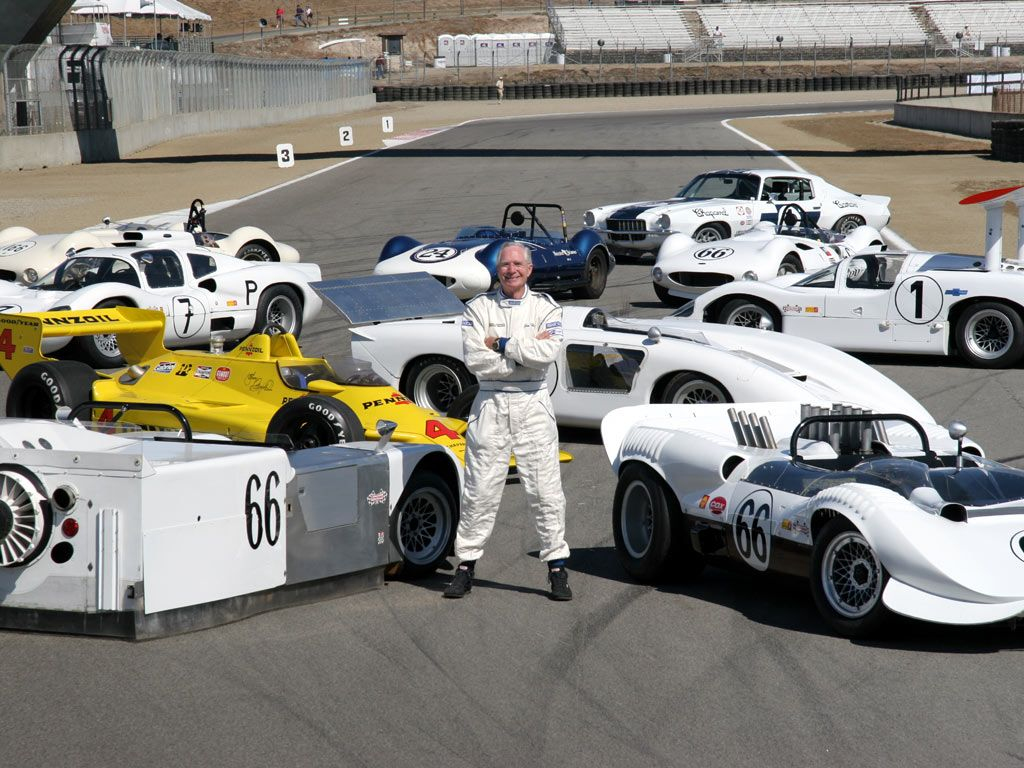 Jim Hall and his Chaparrals at 2005 Monterey Historic | Race cars ...