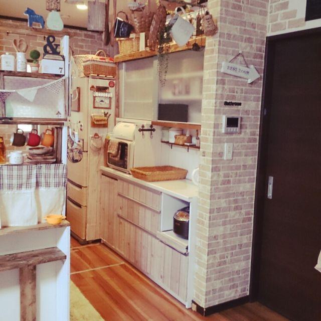 キッチン Daiso シンプルにしたい リメイクシート シンプルナチュラル