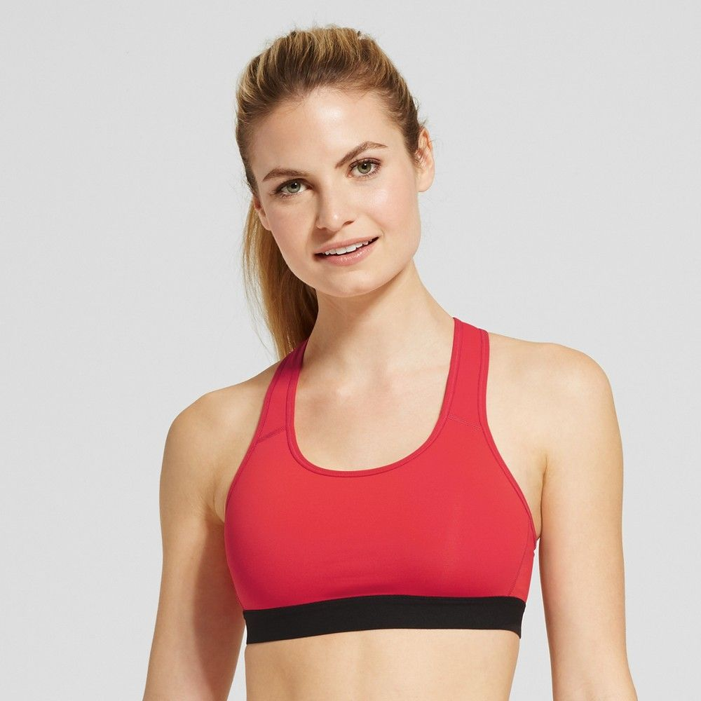 Women's Power Core (With images) Red sports bra, Sports