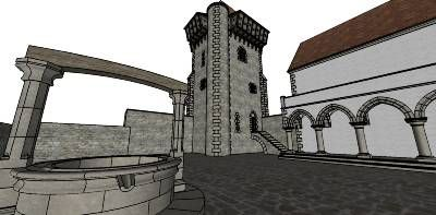 Medieval Manor - part 1 - 3D Warehouse