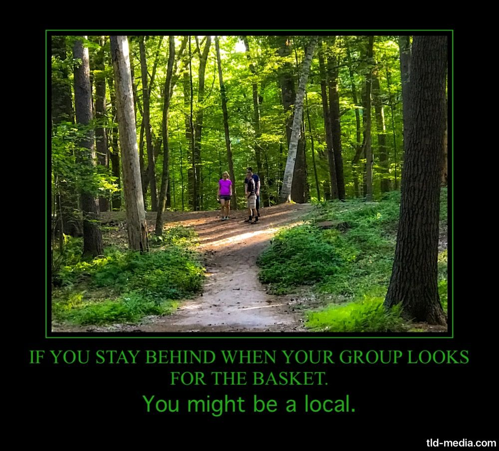 Pin by kmr on Disc golf memes | Disc golf, Country roads, Disc