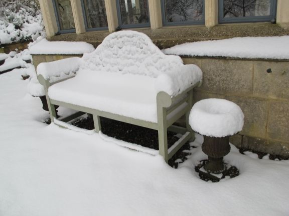Chilly upholstery!!
