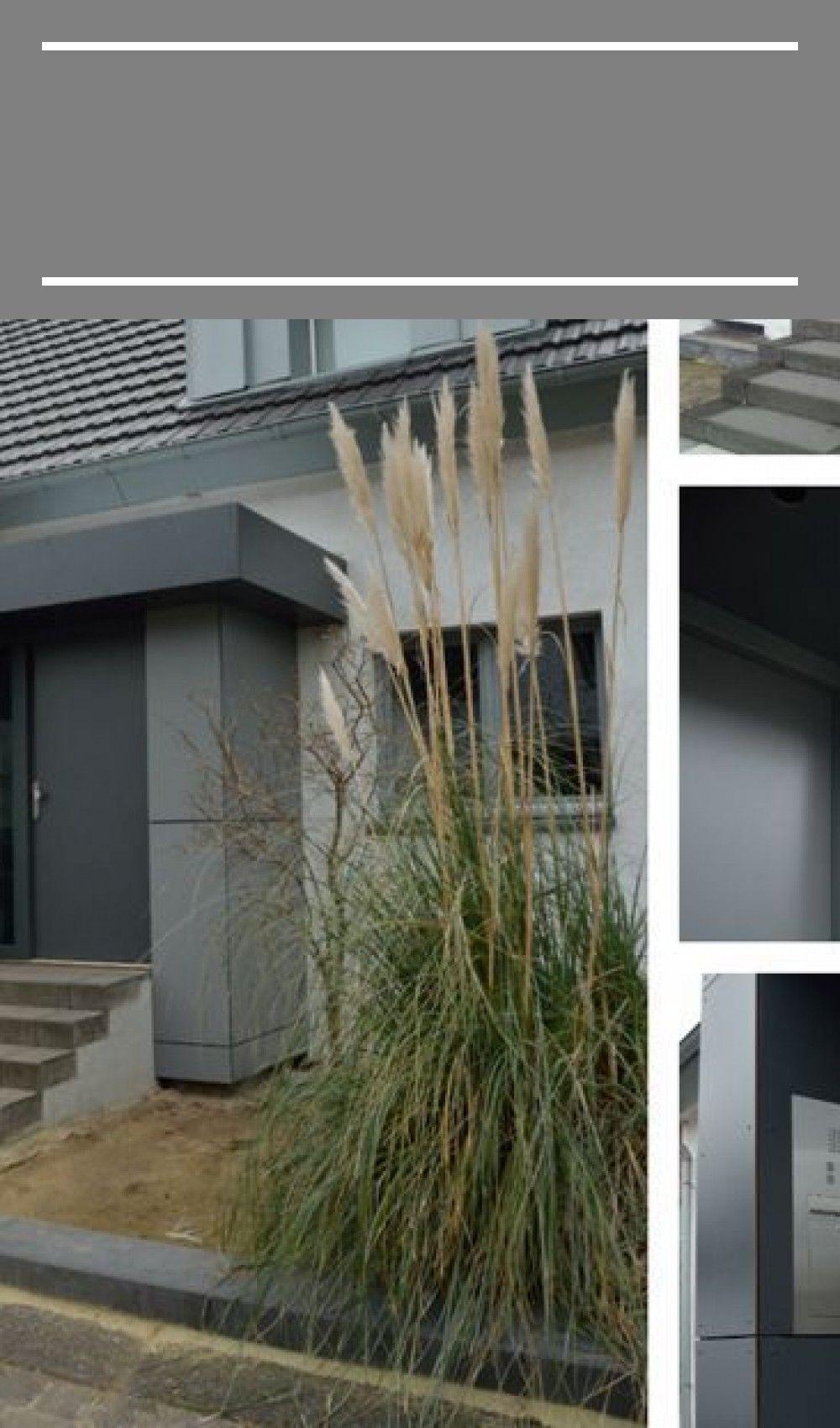 Eingangsbereich Haus Aussen In 2020 Outdoor Decor Modern Dry Leaf