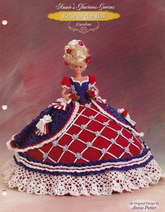 Caroline, Annie\'s Attic Crochet Fashion Doll Clothes Pattern Booklet ...