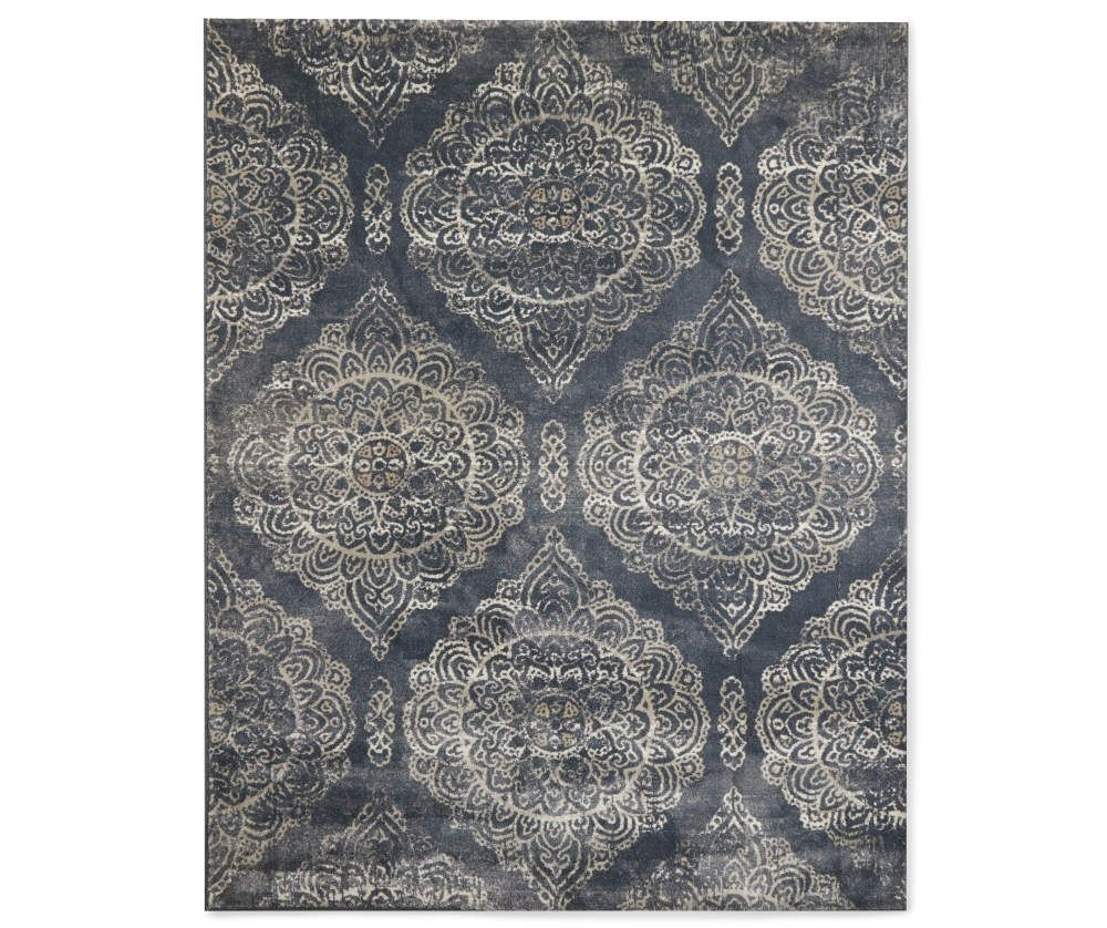 Broyhill Orson Damask Area Rug 7 10 X 9 10 Big Lots In 2020