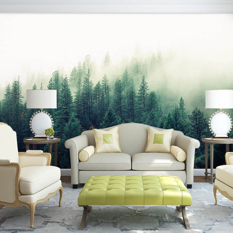 Bacaz Grande 5d Papel Murales Carta Da Parati Natura Nebbia