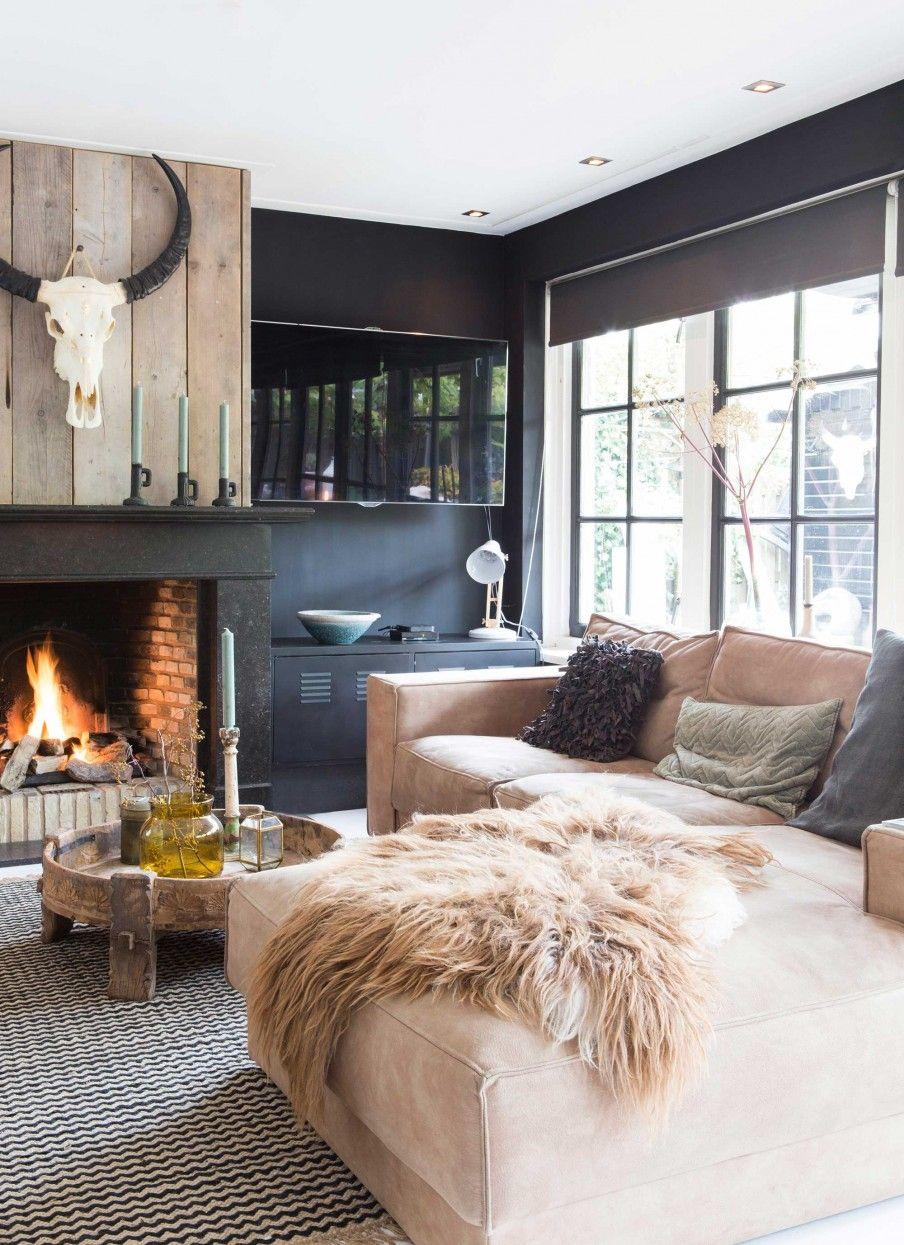 Wohnzimmer Einrichtung, warm und gemütlich. | Einrichtungsideen ...
