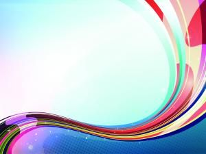 This Colorful Effects Powerpoint Background Is Almost