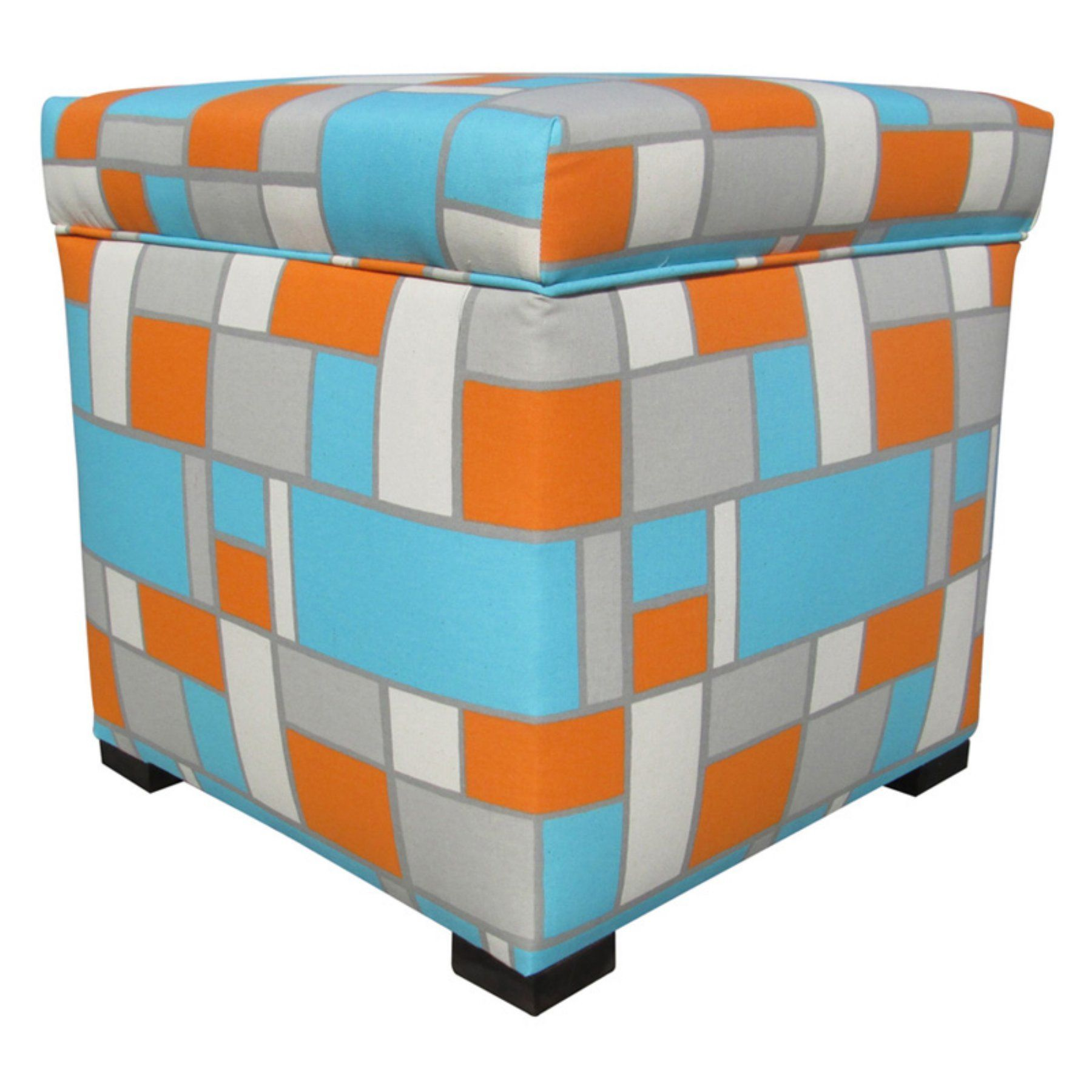 Sole Designs Tami Collection Upholstered Bedroom Ottoman