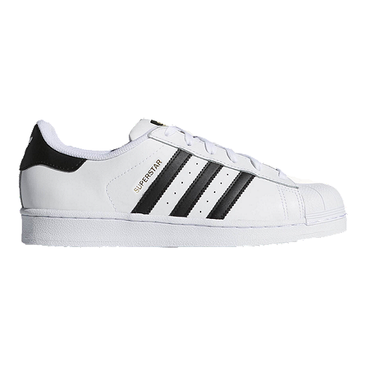 adidas Women's Superstar Shoes - White/Black