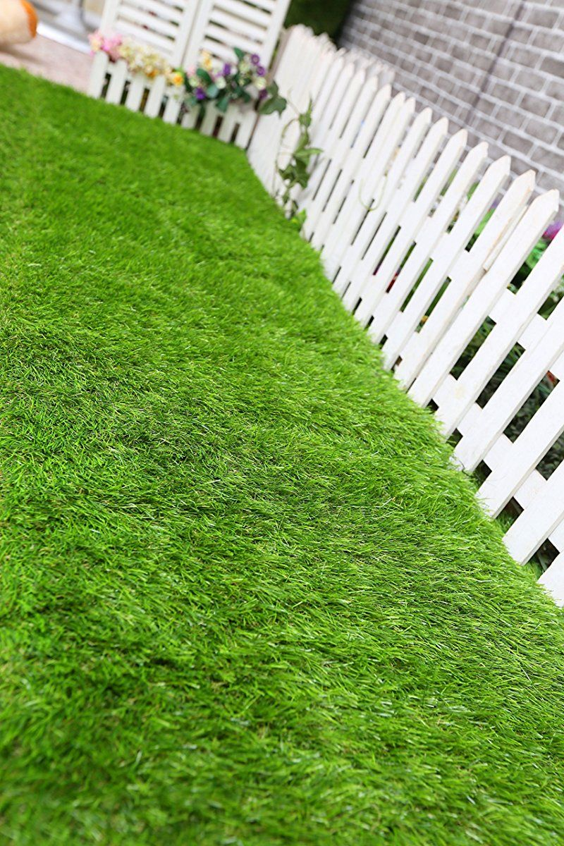 Qyh Artificial Grass Turf Lawn Indoor Outdoor 30mm Pile Height