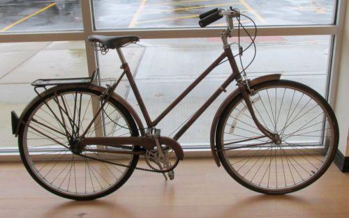 Vintage 1960 S Raleigh Sports Womens 3 Speed 21 Bike Bicycle Bicycle Bike Bicycle Bike
