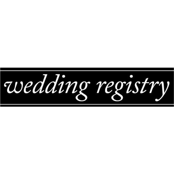 Wedding Registry Text ❤ liked on Polyvore featuring text, words, quotes, black, filler, phrase, magazine and saying