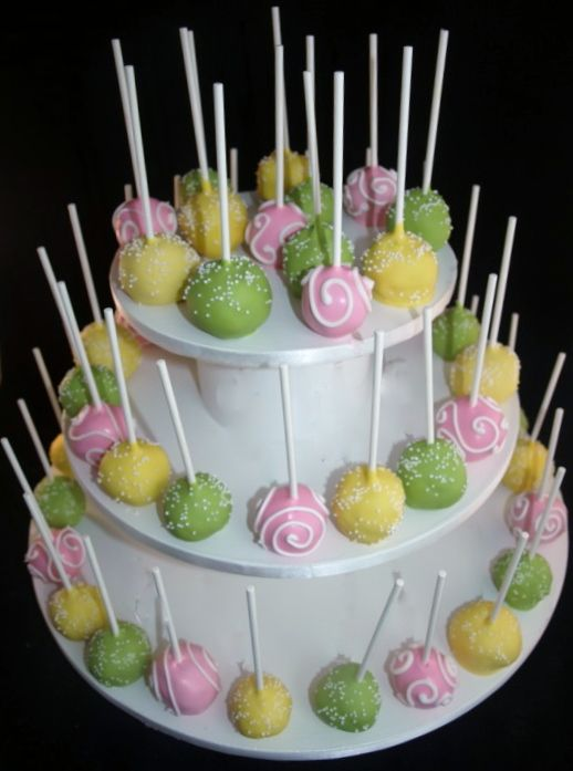babyshowercake pops Baby Shower Cake Pops Portland Oregon Mayoon