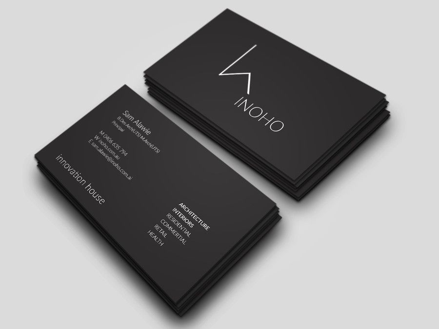 Architecture Business Card Part - 37: Business Cards Contest Entry #23 For Architect Logo Design - Business Cards  -- 4