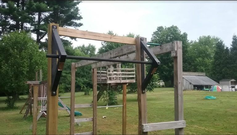How To Build Monkey Bars: My $100 Backyard Design -Action