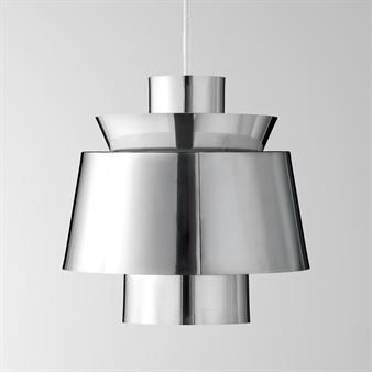 Utzon Lamp Ju1 Chrome From Tradition By Jorn Utzon Pendant Light Design Lamp House Styles