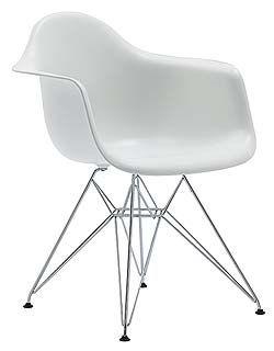 Amazing Eames Molded Plastic Armchair