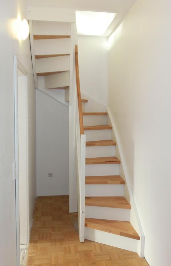Elegante Raumspar-Treppe #loftconversions